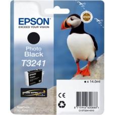 Картридж струйный Epson T3241 C13T32414010 фото черный (14мл) для Epson SureColor SC-P400