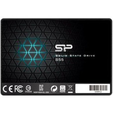 Накопитель SSD SILICON POWER Slim S55 SP120GBSS3S55S25 120Гб, 2.5