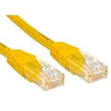 Патч-корд Exegate UTP 5e, 2м неэкранированный (UTP), категория 5e, 2м, жёлтый (EX258674RUS)
