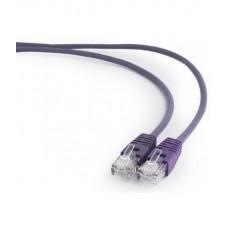Патч корд Bion UTP кат.5е 1м фиолетовый  CCA [BNPP12-1M/V]