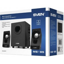 Акустическая система 2.1 Sven MS-85 черный 10Вт