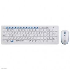 Набор клавиатура + мышь беспроводной USB Defender Skyline 895 Nano
