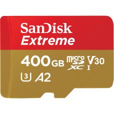 Флеш карта microSDXC 400Gb Class10 Sandisk SDSQXA1-400G-GN6MA Extreme + adapter