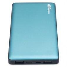 Мобильный аккумулятор GP Portable PowerBank MP05 Li-Pol 5000mAh 2.1A+2.1A зеленый 2xUSB
