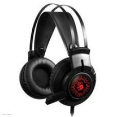 Наушники с микрофоном A4 Bloody J437 черный 2.2м мониторы USB оголовье (J437)