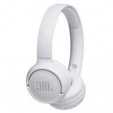 Гарнитура накладные JBL T500 1.187м белый проводные (оголовье) [JBLT500WHT]