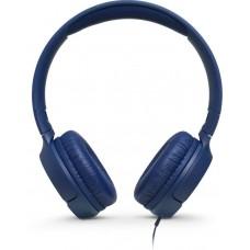 Наушники накладные  JBL Т500, 32 Ом, синий [JBLT500BLU]