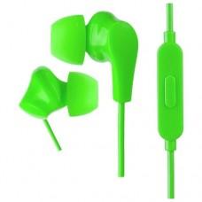 наушники внутриканальные Perfeo c микрофоном ALPHA зеленые