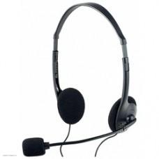 Perfeo стерео гарнитура накладная CHAT черная PF-CHAT-BLK|PF-FLD-BLK