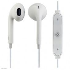 Наушники внутриканальные Perfeo с микрофоном беспроводные LIGHT белые PF_A4309
