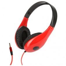 Наушники полноразмерные Perfeo FANCY черные/красные PF-FAN-BLK/RED [PF_3813]