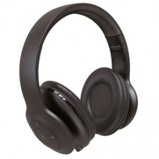 Наушники полноразмерные Perfeo беспроводные с микрофоном SOLE чёрные [PF_A4906]