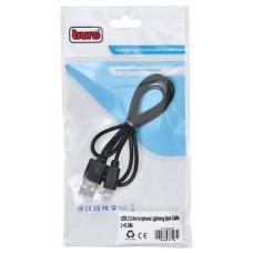 Кабель Buro BHP LIGHTNING 0.8 Lightning (m) USB A(m) 0.8м черный