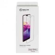 Защитное стекло для экрана Redline Full Glue черный для Apple iPhone XR/11 1шт. (УТ000016086)
