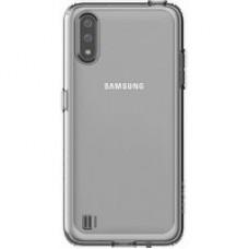 Чехол (клип-кейс) Samsung для Samsung Galaxy A01 araree A cover прозрачный (GP-FPA015KDATR)