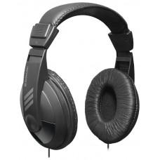 Наушники накладные Defender Gryphon 751 черный, кабель 2 м 63751