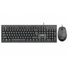 Комплект (клавиатура + мышь) проводной CBR KB SET 711