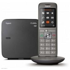 Телефон Dect Gigaset CL660A черный автооветчик АОН