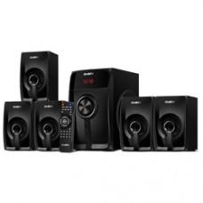 Акустическая система 5.1 SVEN HT-202, черный,  (мощность (RMS):20Вт+5x16Вт, Bluetooth, FM-тюнер, USB/SD, дисплей, пульт ДУ) SV-018177