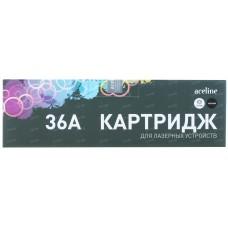 Картридж лазерный Aceline NS-CB436A