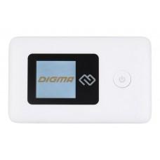 Модем 3G/4G Digma Mobile Wifi USB Wi-Fi Firewall +Router внешний белый