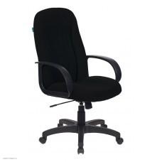Кресло руководителя БЮРОКРАТ T-898, на колесиках, ткань, черный