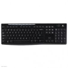 Комплект кл-ра+мышь беспров. Logitech MK270 black (USB, 112+8 клавиш, Multimedia) (920-004518)