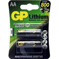 Батарея GP Lithium 15LF FR6 AA