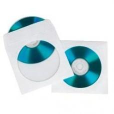 Конверт Hama на 1CD/DVD H-62671 белый (упак.:50шт)