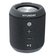 Колонка порт. Hyundai H-PAC300 черный 7W 1.0 BT/3.5Jack/USB 10м