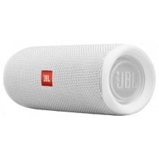 Колонка порт. JBL Flip 5 белый 20W 1.0 BT 4800mAh (JBLFLIP5WHT)