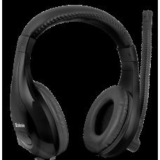 Игровая гарнитура Defender Warhead G-170 черный, кабель 2,5 м