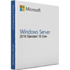 ПО Microsoft Windows Server 2019 Standard 64-bit English DVD 10 Clt 16 Core License (P73-07701)