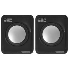 Акустическая система 2.0 CBR CMS 90 Black