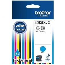 Картридж LC525XLC Brother DCP-J100/J105/J200 blue 1300 стр