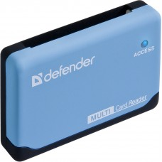 Универсальный картридер Defender Ultra USB 2.0, 5 слотов