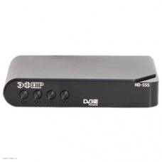 Ресивер эфирный цифровой пластик DVB-T2 HD-505, Эфир