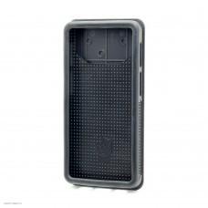 Чехол задняя крышка слайд силикон-пластик 4.7-5.0 черный