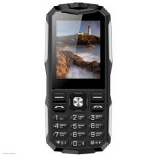 Телефон Vertex K213 black/silver