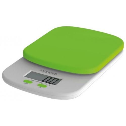 Весы кухонные STARWIND SSK 2155 green 2кг