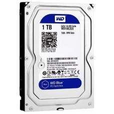 Накопитель HDD 1000 Gb Western Digital WD10EZEX (кэш 64Mb) WD Caviar Blue SATA 3.0 7200rpm 3.5