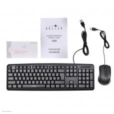 Клавиатура + мышь Oklick 600M клав: черный, мышь: черный USB (MK-5330)