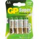 Батарейка GP Ultra Alkaline 15AUGL LR6 AA