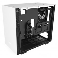 Корпус NZXT CA-H210B-W1 H210 Mini ITX White/Black Chassis with 2x120mm Aer F Case Fans