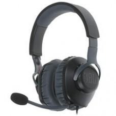 Наушники с микрофоном JBL Quantum 100 черный 1.2м мониторные оголовье (JBLQUANTUM100BLK)