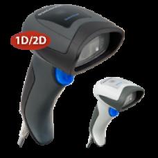 Сканер штрих-кода DATALOGIC QuickScan QD2430 (ручной, 2D имидж, кабель USB), черный