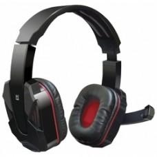 Игровая гарнитура Defender Warhead G-260 красный + черный, кабель 1,8 м 64121