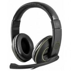 Игровая гарнитура Defender Warhead G-110 черный, кабель 2,1 м 64102