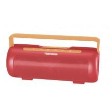 Колонка портативная Telefunken TF-PS1231B красный/оранжевый 4W 2.1 BT/3.5Jack 2200mAh (TF-PS1231B(КОРАЛЛОВО КРАСНЫЙ))