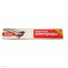 Электроды сварочные Ресанта МР-3 Ф2,5, пачка 1 кг